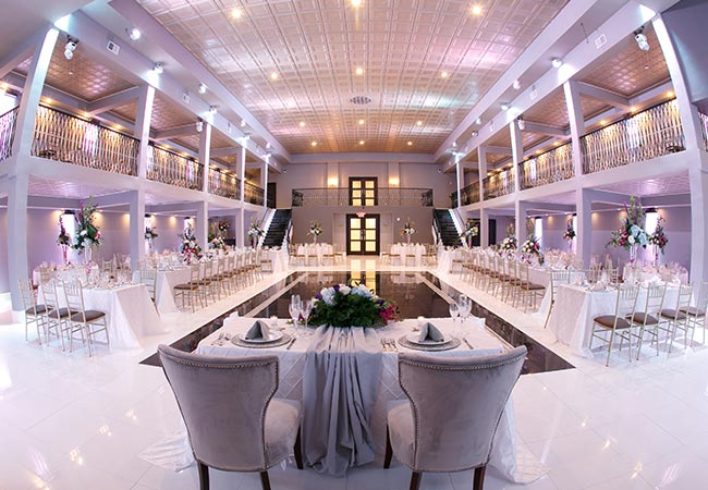Ballroom of The Brookside Banquets