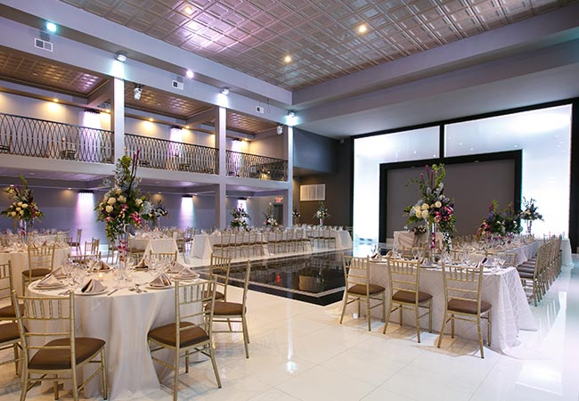 Large Event Room of The Brookside Banquets