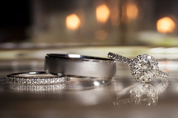 The Brookside Banquets Wedding Rings