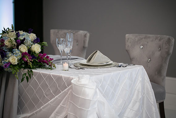 The Brookside Banquets Table